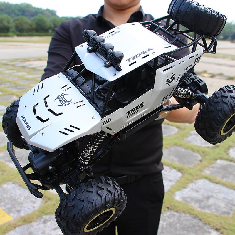 XYCQ RC Car 4WD 2.4GHz climbing Car 4x4 Double Motors Bigfoot Car Remote Control Model Off-Road Vehicle Toy-1