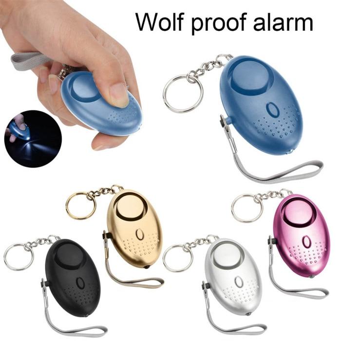photo of Self Defense Alarm 120dB Security Protect Alert Scream Loud Emergency Alarm Keychain Personal Safety For Women Child Elder Girl