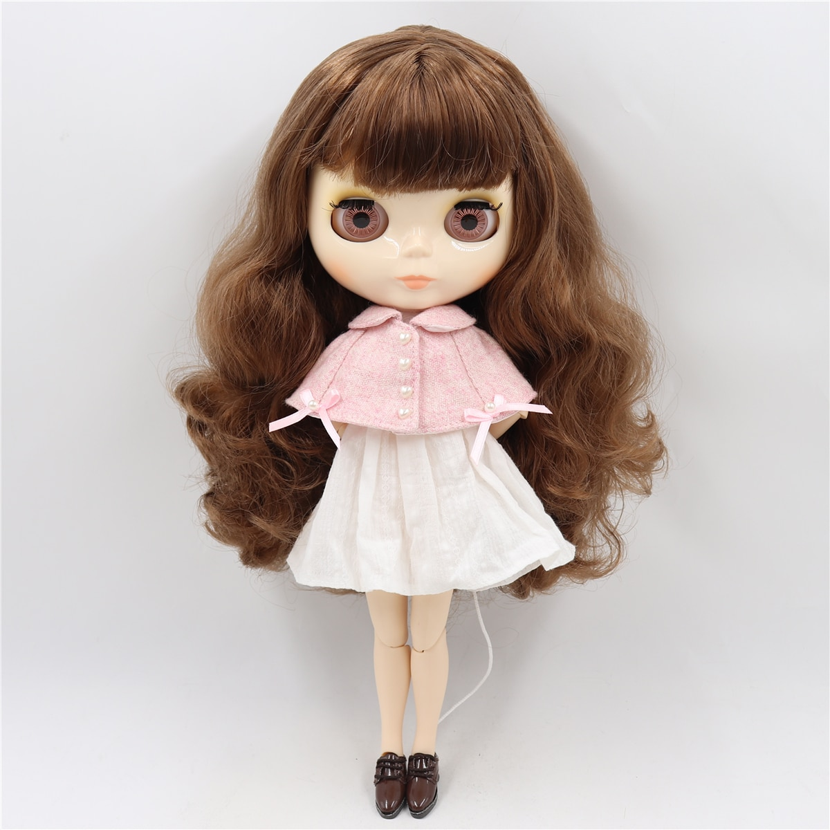 ICY factory blyth doll bjd toy joint body white skin shiny face 30cm 1/6 on sale special offer-2