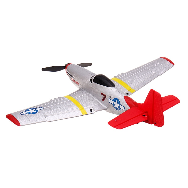 Eachine Mini P-51D EPP 400mm Wingspan 2.4G 6-Axis Remote Control RC Airplane Trainer Fixed Wing RTF One Key Return for Beginner-2