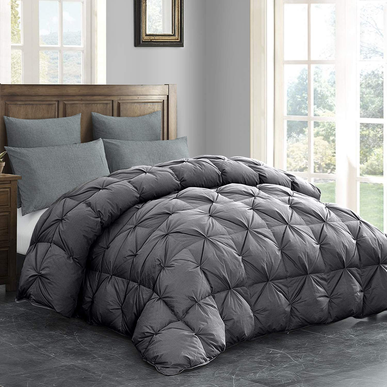 HOMBYS All-Season Goose Down Comforter King Size Duvet Insert 120x98 California | eBay