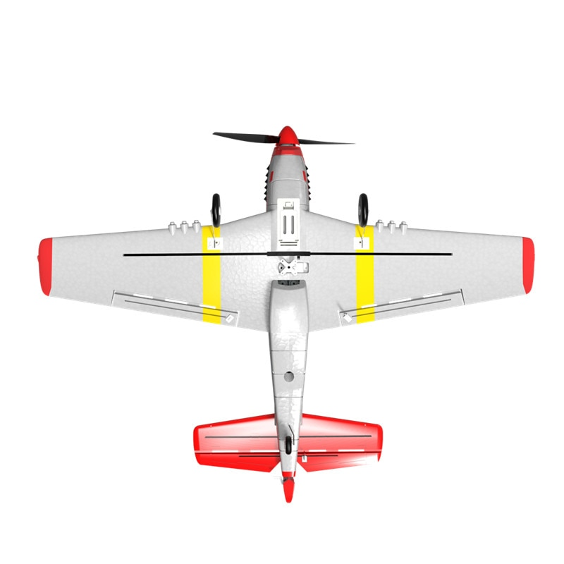 Eachine Mini P-51D EPP 400mm Wingspan 2.4G 6-Axis Remote Control RC Airplane Trainer Fixed Wing RTF One Key Return for Beginner-5