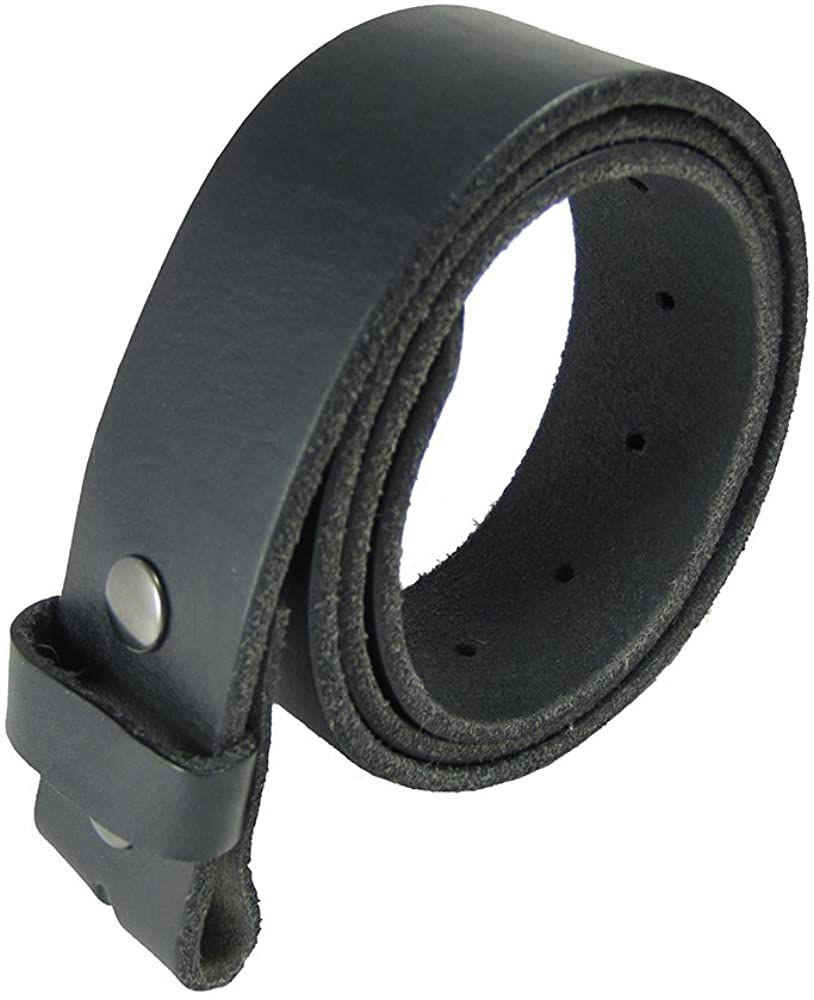 Gelante Genuine Full Grain Leather Belt Strap without Belt B