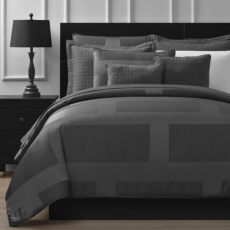 Comfy Bedding Frame Jacquard Microfiber King 5-piece Comfort
