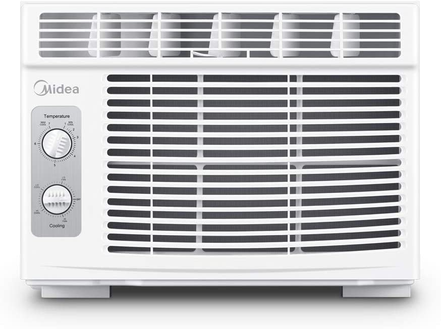 MIDEA MAW05M1BWT Window air conditioner 5000 BTU with Mechan