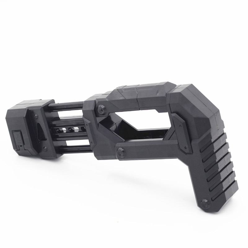 photo of Retrofit Device 1 Pcs Inlay Type Soft Bullet Blaster Parts Stock for Nerf Modification High Part Quality- Black
