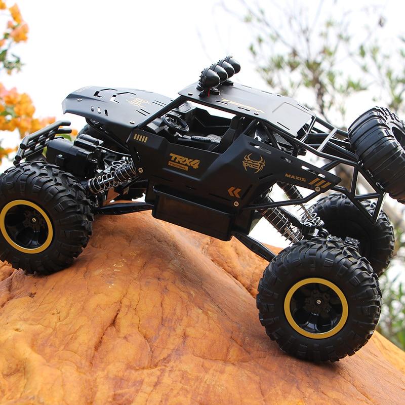 XYCQ RC Car 4WD 2.4GHz climbing Car 4x4 Double Motors Bigfoot Car Remote Control Model Off-Road Vehicle Toy-3