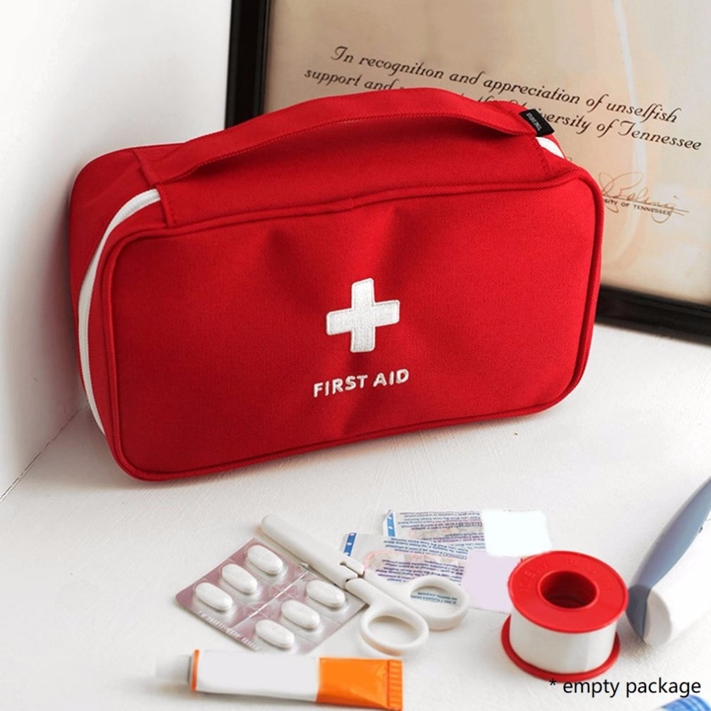 photo of First Aid Kit For Medicines Outdoor Camping Medical Bag Survival Handbag Emergency Kits Travel Set Portable