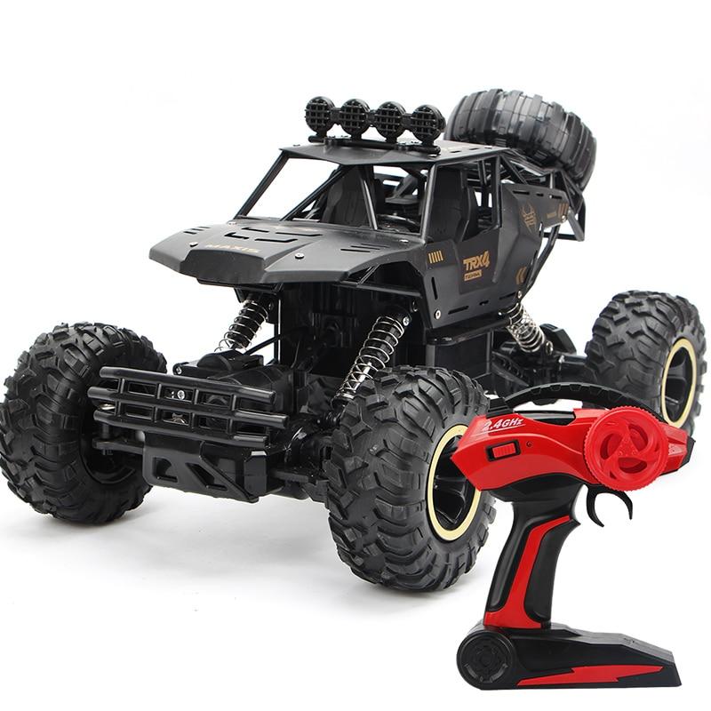 XYCQ RC Car 4WD 2.4GHz climbing Car 4x4 Double Motors Bigfoot Car Remote Control Model Off-Road Vehicle Toy-5