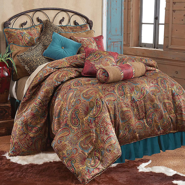 san angelo western paisley comforter set super