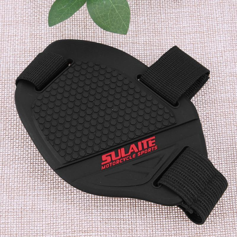 Motorcycle Non-slip Gear Shifter Shoe Boot Botas Scuff Mark Protector Moto Wear-resisting Rubber Sock Pad Cover Guard Universal-3