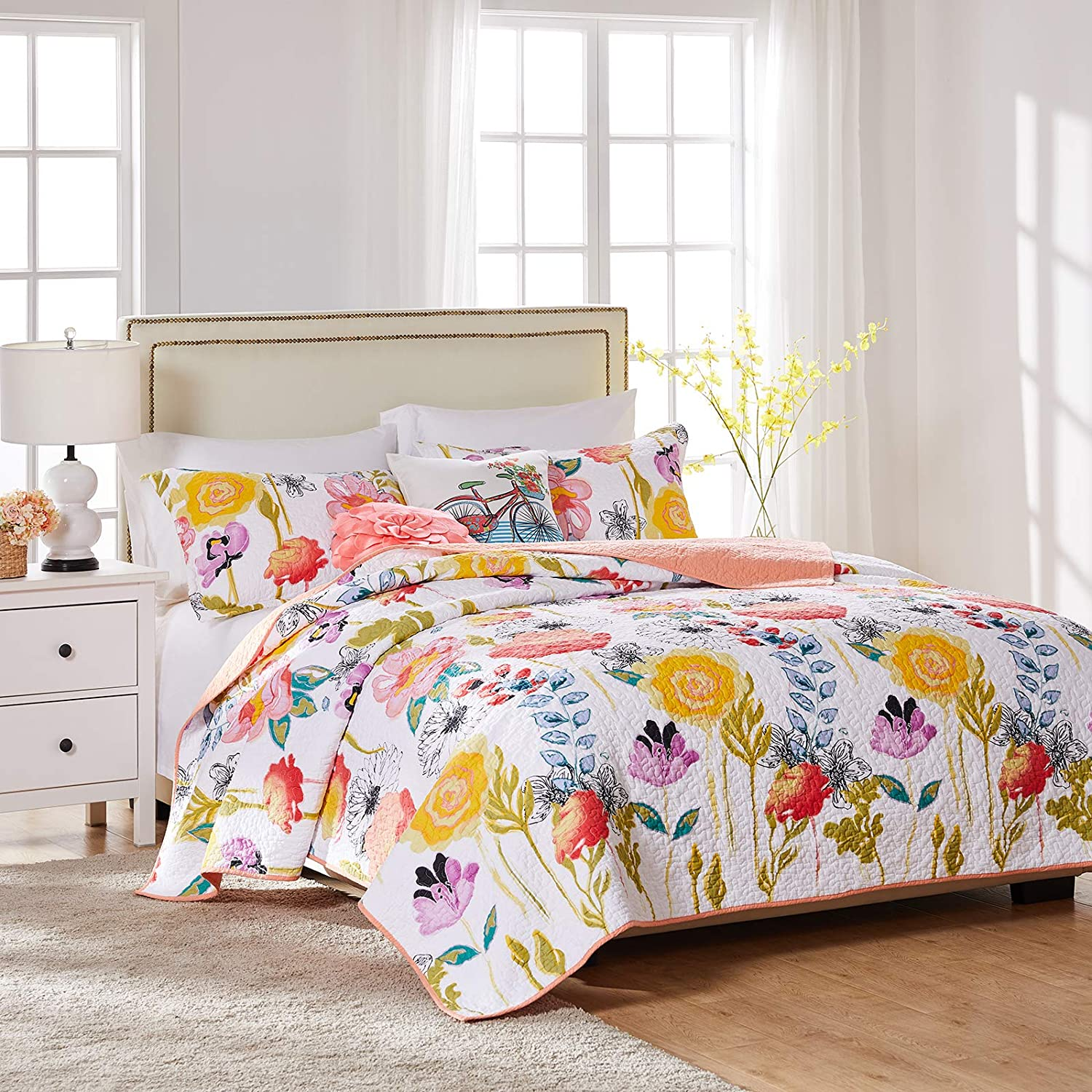 greenland home watercolor dream quilt set 2