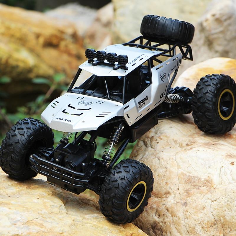 XYCQ RC Car 4WD 2.4GHz climbing Car 4x4 Double Motors Bigfoot Car Remote Control Model Off-Road Vehicle Toy-2