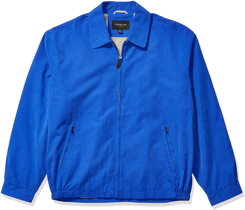 LONDON FOG Men's Auburn Zip-Front Golf Jacket