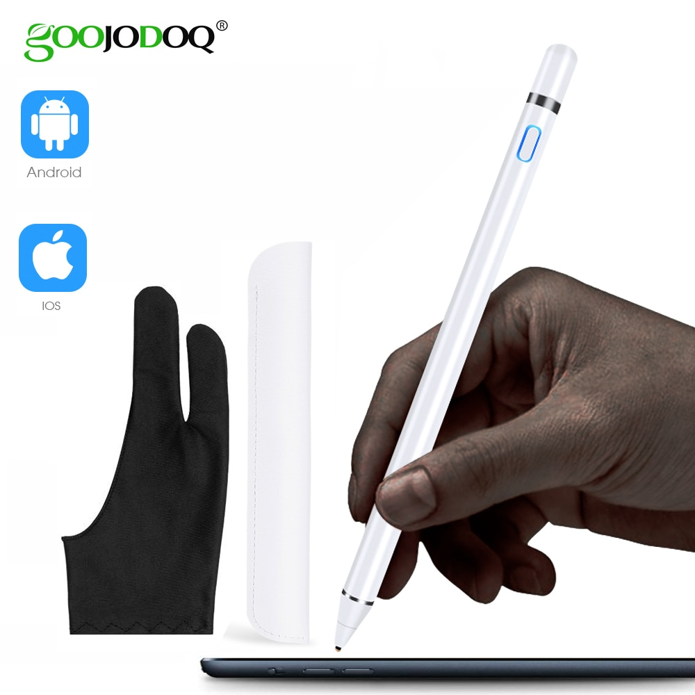 GOOJODOQ Stylus Pen Touch For Apple Pencil iPad Pro air 2 3 Mini 4 Stylus Pen for Samsung Huawei Tablet iOS/Android Mobile Phone-0