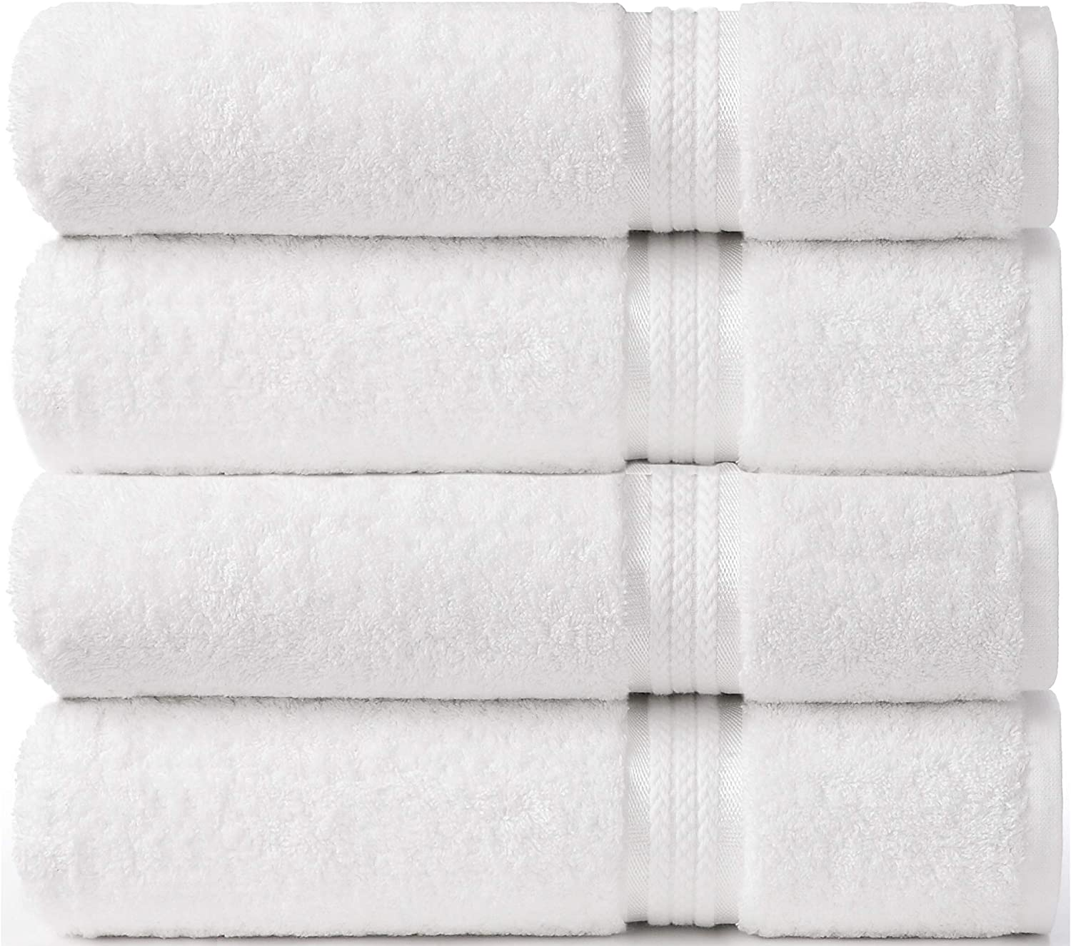 COTTON CRAFT Ultra Soft 4 Pack Oversized Extra Large Bath To