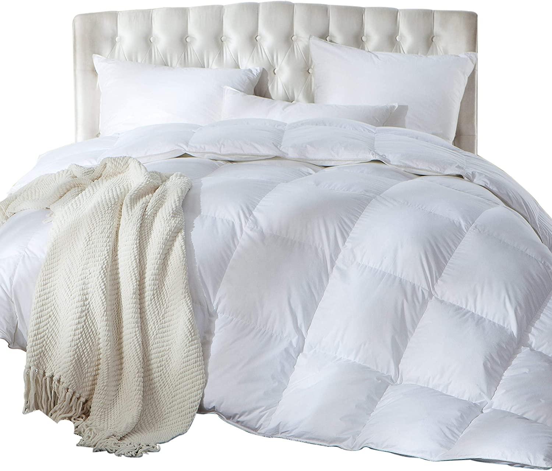 Luxurious Full/Queen Size Siberian Goose Down Comforter, Duv
