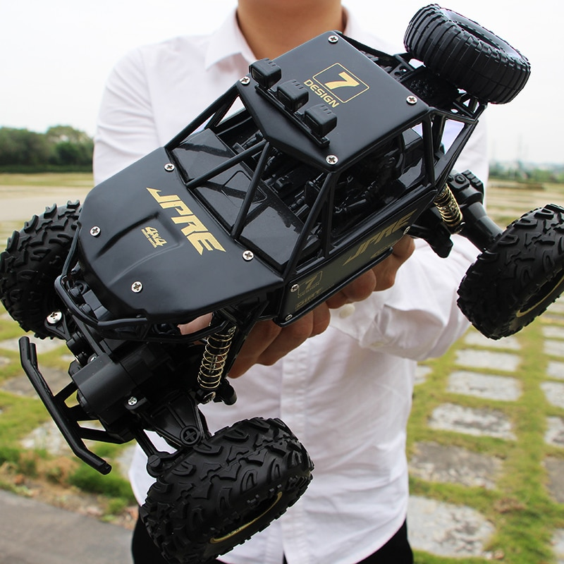 XYCQ RC Car 4WD 2.4GHz climbing Car 4x4 Double Motors Bigfoot Car Remote Control Model Off-Road Vehicle Toy-4