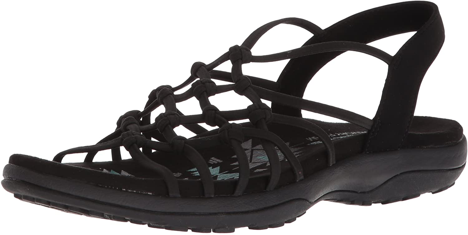 Skechers Women's Reggae Slim-Forget Knotted Web Gore Open To