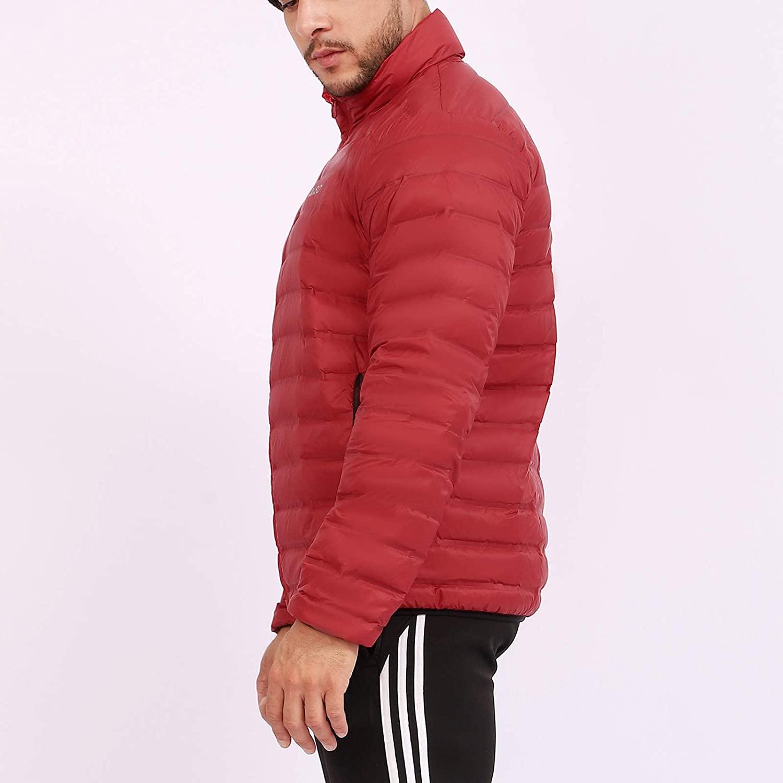 OASO Mens Down Jacket Lightweight Warm Puffer Jacket Packable Water-Resistant Outdoor Traveling