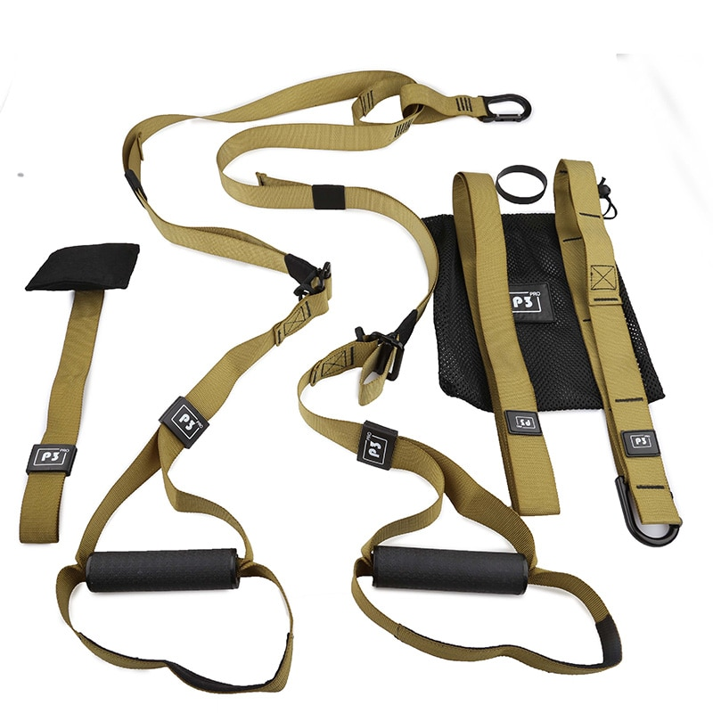Resistance Bands Fitness Hanging Belt Training Gym workout Suspension Exercise Pull rope Stretching Elastic Straps-4
