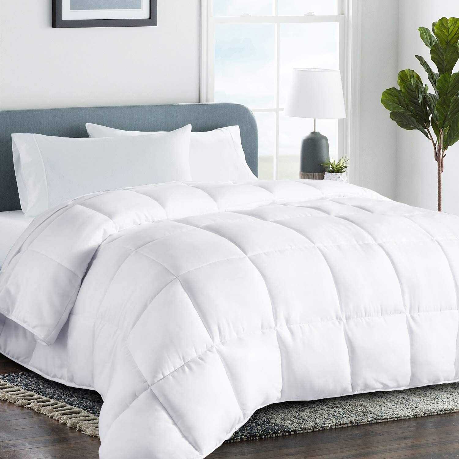 COHOME King 2100 Series Cooling Comforter Down Alternative Q