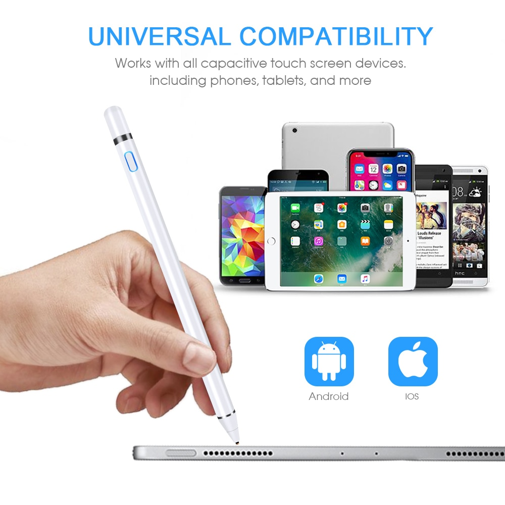 GOOJODOQ Stylus Pen Touch For Apple Pencil iPad Pro air 2 3 Mini 4 Stylus Pen for Samsung Huawei Tablet iOS/Android Mobile Phone-4