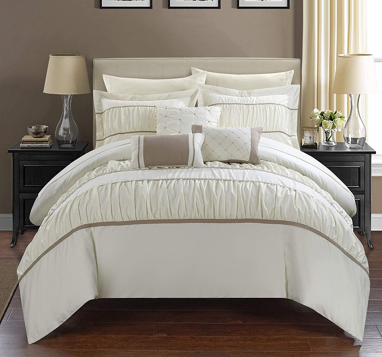 chic home 10 piece cheryl comforter set
