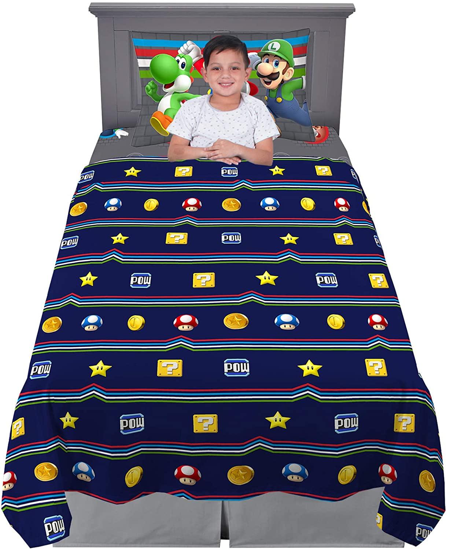 Franco Kids Bedding Soft Sheet Set, 3 Piece Twin Size, Super