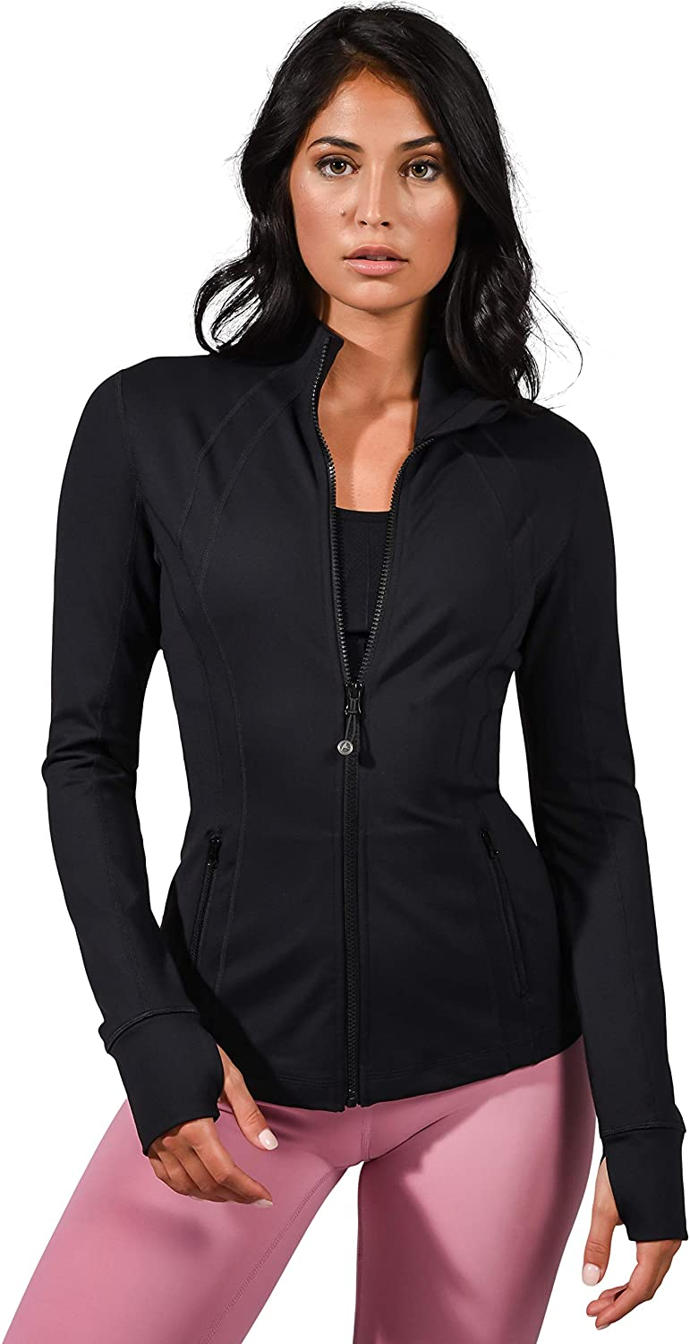 90 Degree By Reflex Women's Lightweight, Full Zip Running
